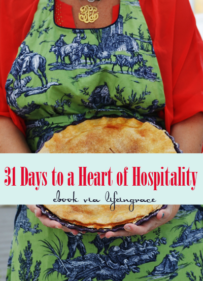 31 Days to a Heart of Hospitality ebook