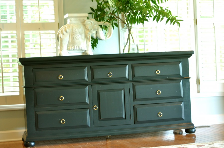 before after painted furniture in grace