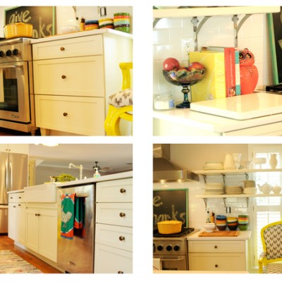 Lake Cottage Kitchen ::  Before and Afters