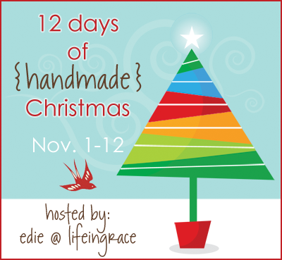 12 Days of Handmade Christmas Day 3|Appliqued Placemats