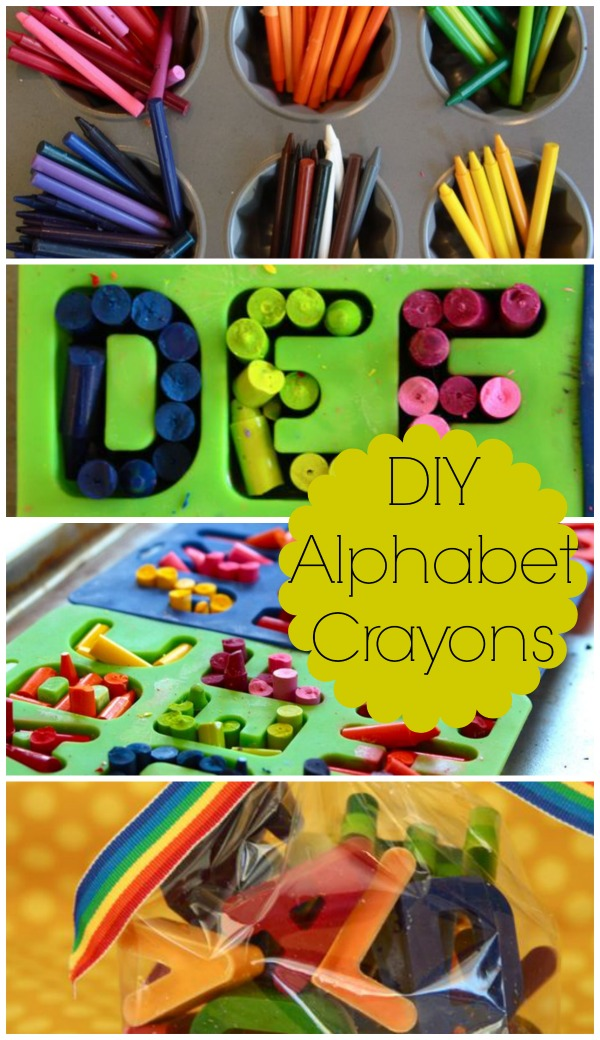 12 Days Handmade Christmas Tutorials Day 8|Alphabet Crayons