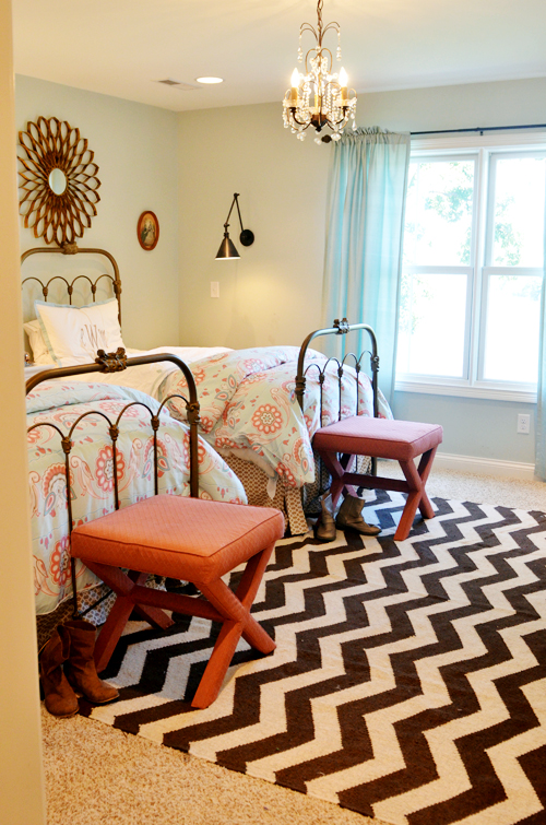 48 DaysDay 48 The Girls' Room Lifeingrace Custom Spare Bedroom Ideas Exterior Painting