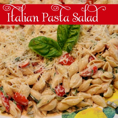 "{Italian} creamy pasta salad:: ""Must Try"" summer recipes"