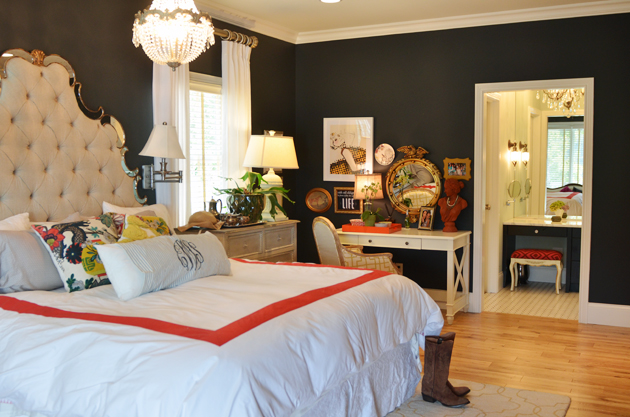 Graphite by Benjamin Moore paint color