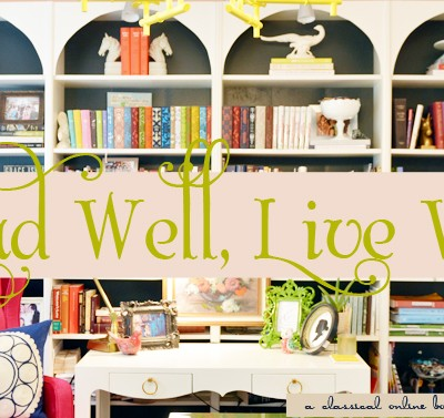 Read Well, Live Well::A classical online book club