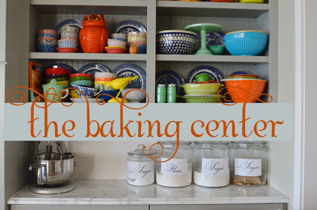31 Days to Hospitality::Day 22 How to set up a baking center