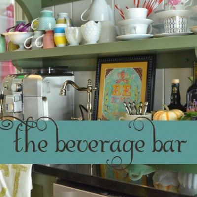 31 Days to Hospitality::Day 19 The Beverage Bar