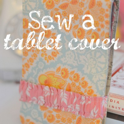 12 Days of {handmade} Christmas::Day 7  DIY Kindle Cover Tutorial