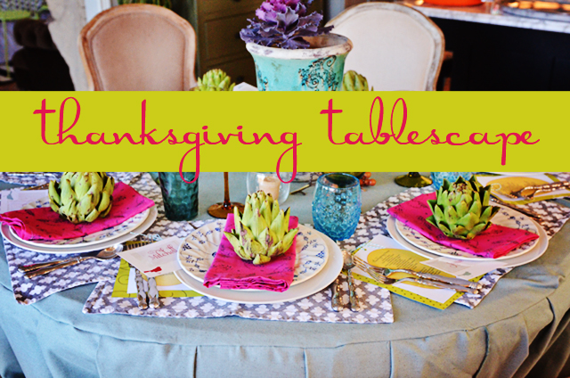 Holiday Tablescapes 2012