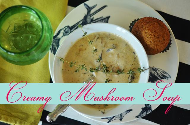 {Creamy} Mushroom Soup