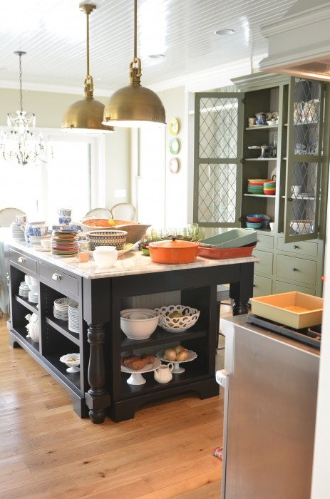 Kitchen Island Open Shelves living with open shelving, the pros and cons - life{in}grace