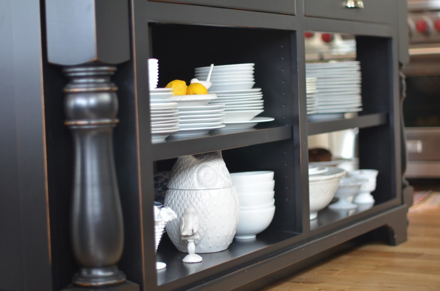 Living With Open Shelving The Pros And Cons Life In Grace