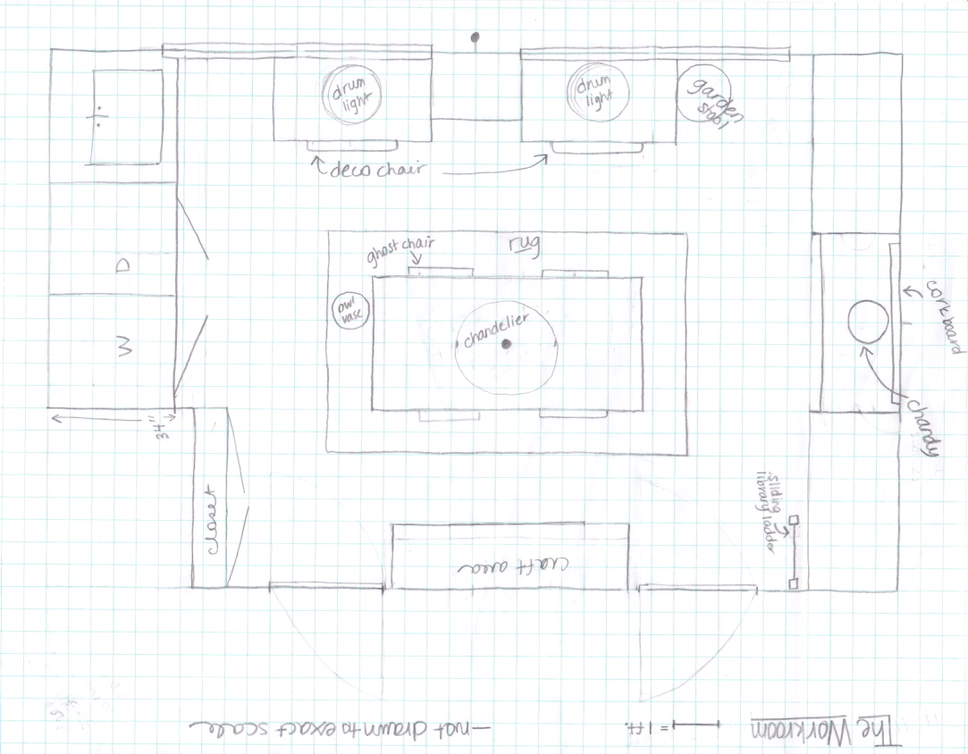 EdieW Workroom floor plan