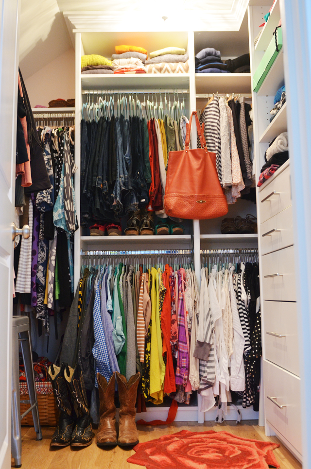 Closet organizing tips and my favorite clothes part 1 for Organizing ideas for closets