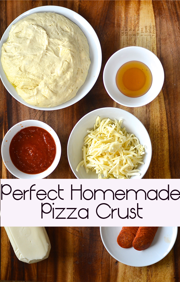Homemade Pizza, {how to make the perfect pizza crust}