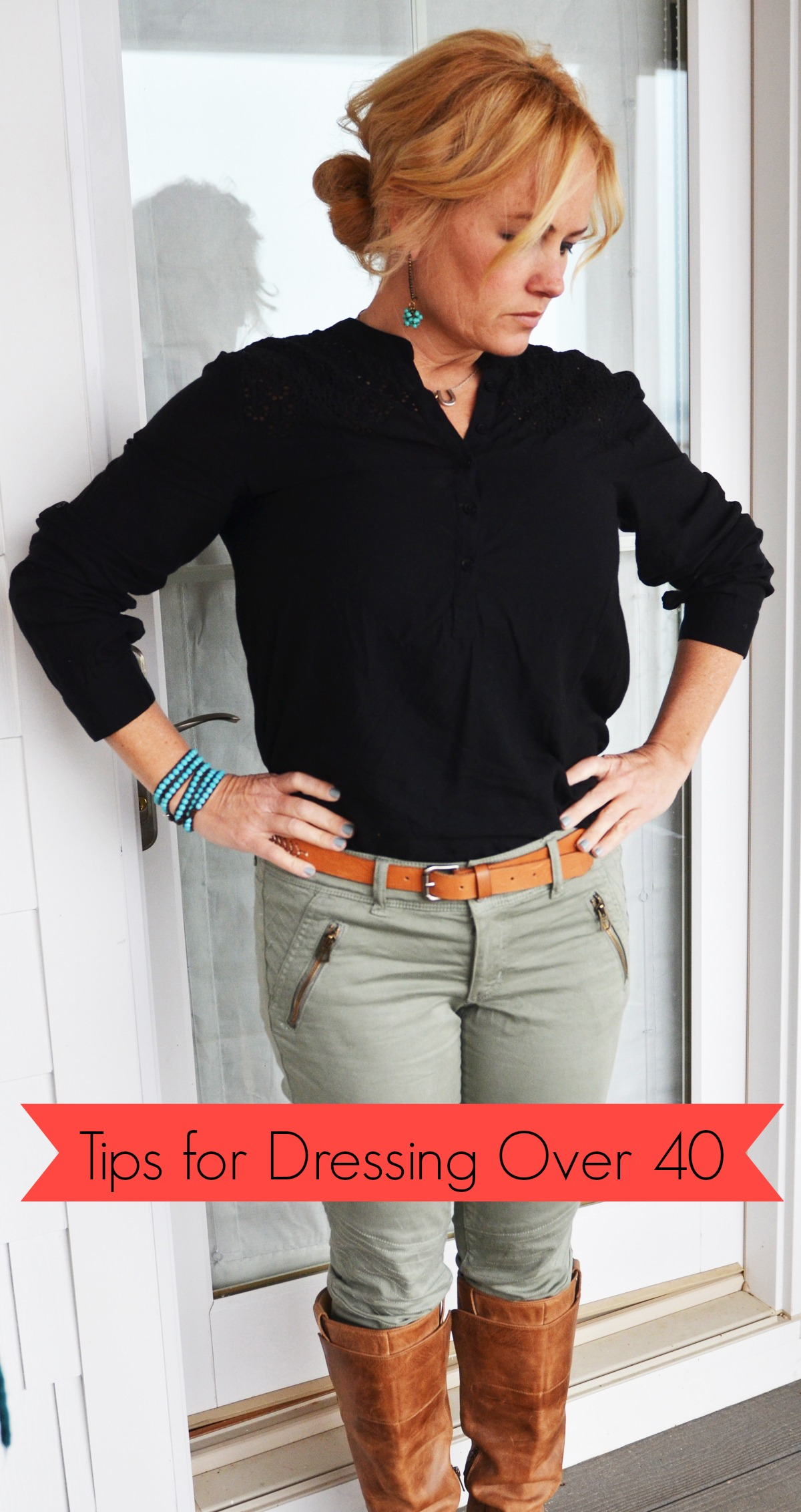 Closet Organizing Tips, {and my favorite clothes}, part 2