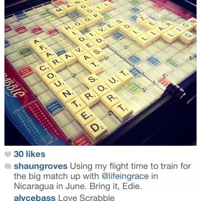 Nicaragua, Scrabble, and plenty of Smack Talk