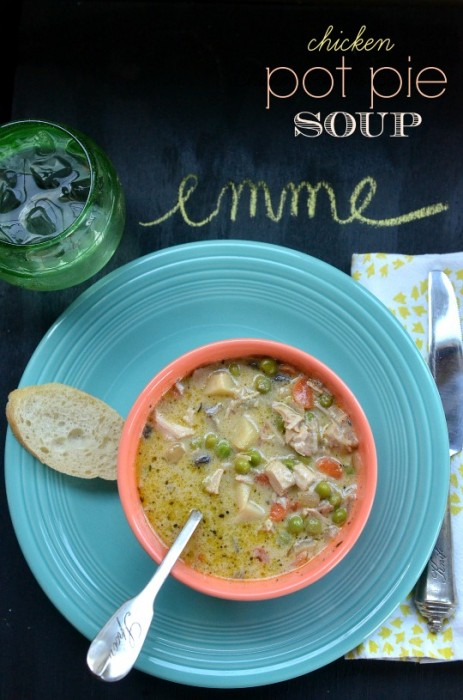 chicken pot pie soup via lifeingrace