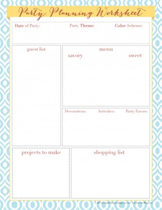 partyplanningworksheet