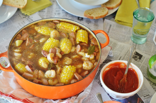 Shrimp Boil {at the Lake} - life{in}grace