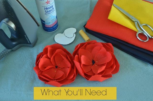 DIY Linen Flower Tutorial