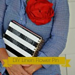 DIY Linen Flower Tutorial