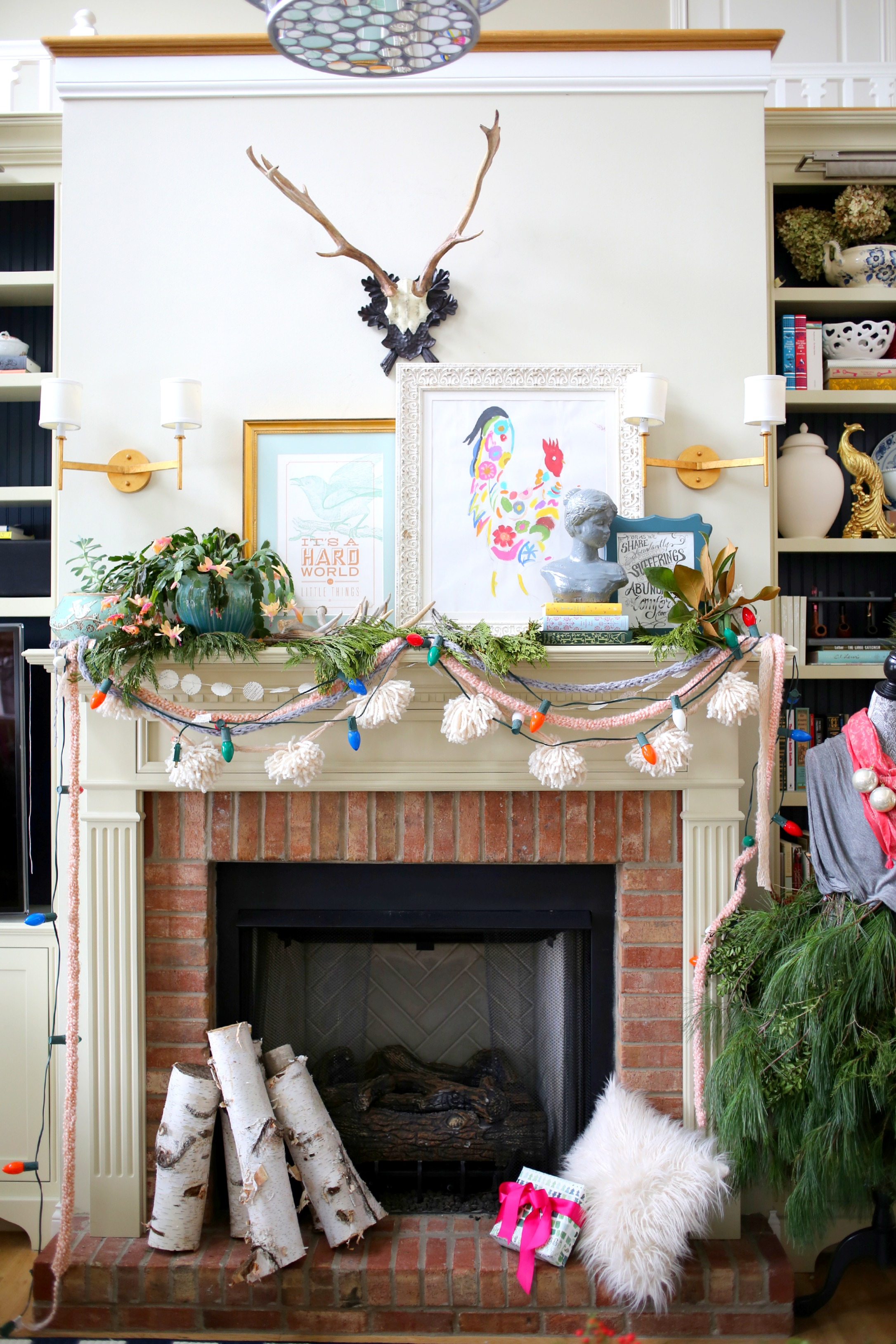 Christmas House Tour via lifeingrace
