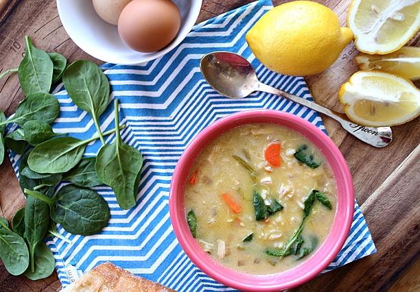 This Greek Lemon Chicken Soup via lifeingrace