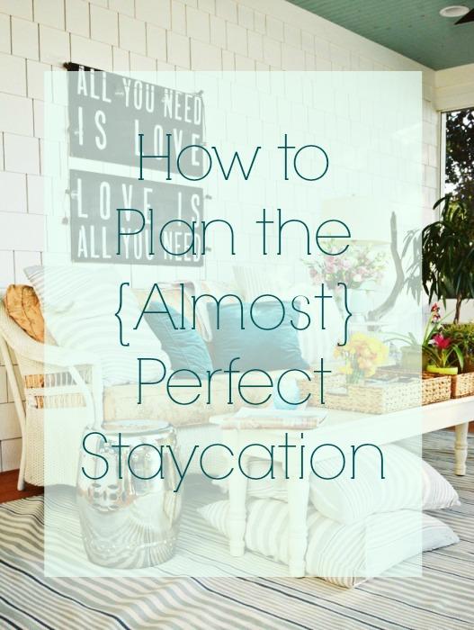 staycationing