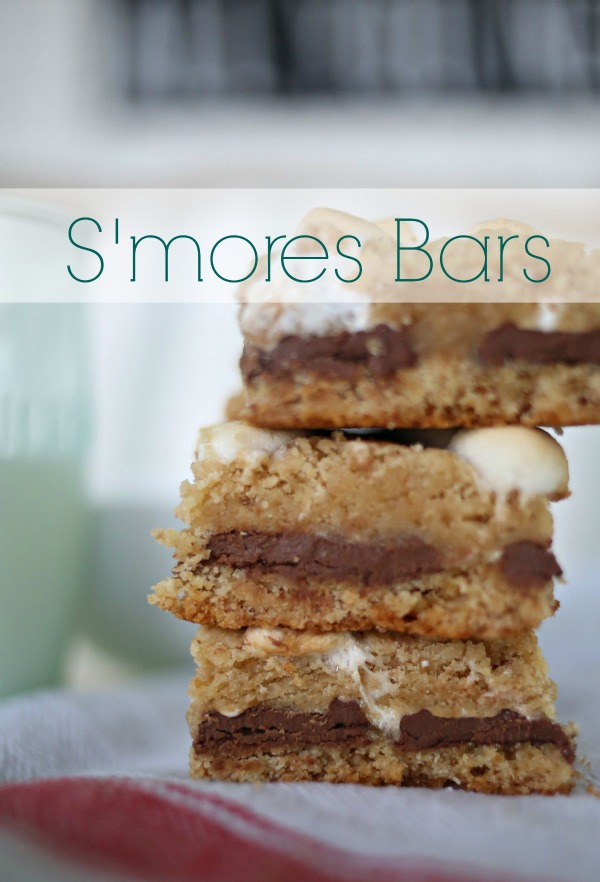 S'mores Bars via lifeingrace