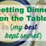 gettingdinneronthetable