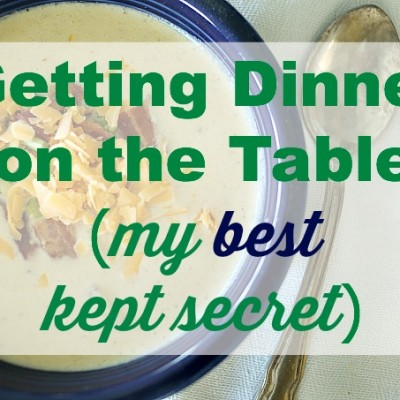 My Best Trick to Getting Dinner on the Table