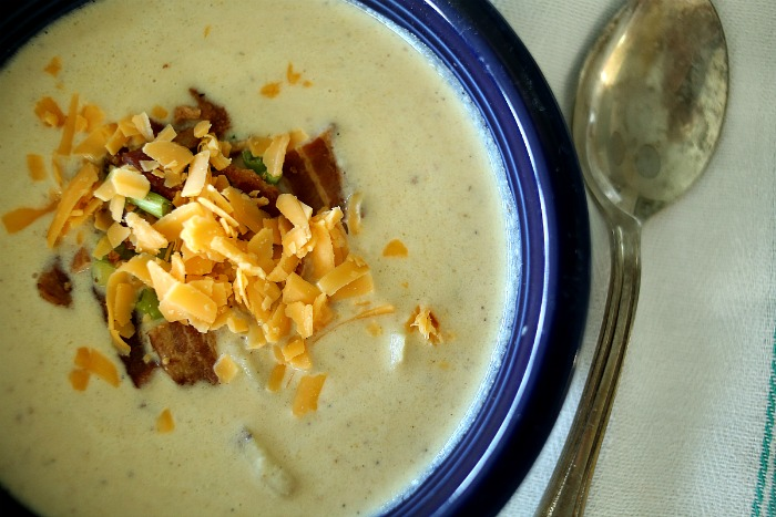 Loaded Potato Soup via lifeingrace