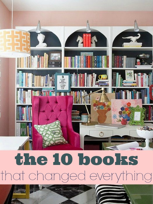 The 10 books that changed my life via lifeingrace